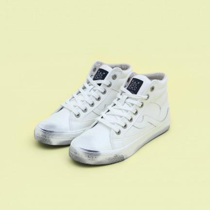 手工做旧锦鲤小白鞋 | 像踩在云朵上一样舒服