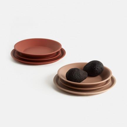 大地系列餐盘   温润如玉,丝绒质感