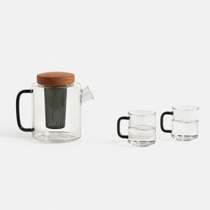 玻璃茶壶套装 | 传统工艺,独特美感