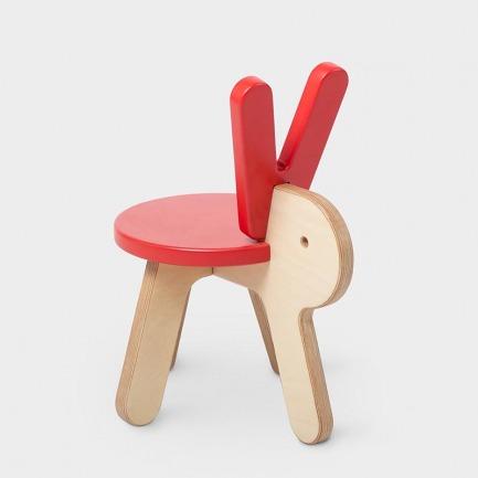 超萌小兔动物椅 | 超萌设计,欢迎领养
