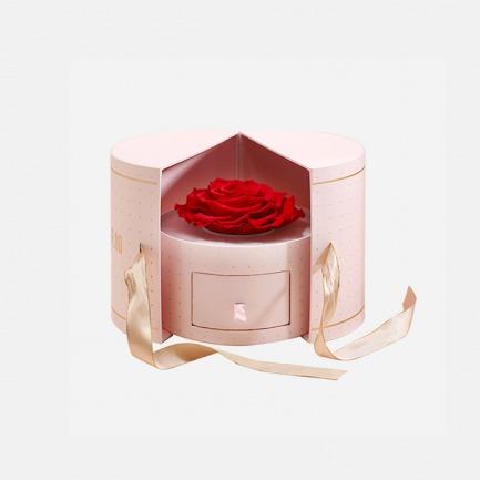 进口玫瑰永生花礼盒 | 巨型红玫瑰,可作首饰盒