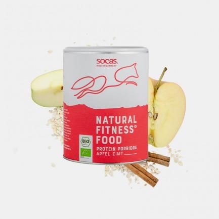 有机植物蛋白粥苹果肉桂 | 低碳低脂高蛋白,有机脱油大豆原料
