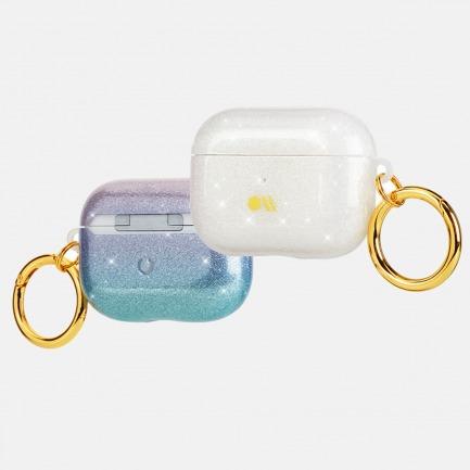泡泡镭射耳机保护套   彩虹漩涡泡泡 随时随地光彩照人