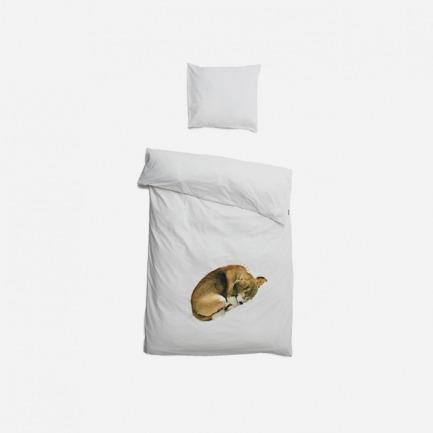 Bob 狗狗被套+枕套 | 可爱又逼真的小狗陪你入睡