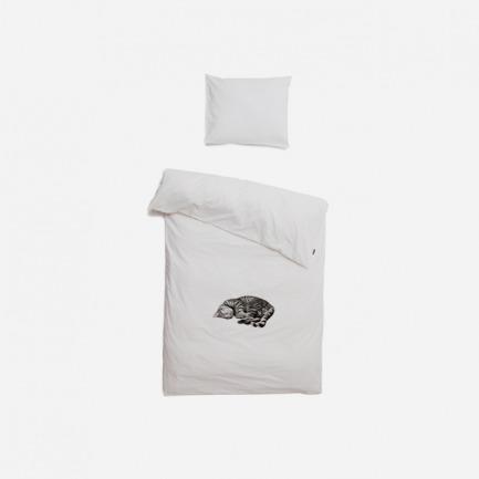 Ollie 猫咪被套+枕套 套装(单/双人)