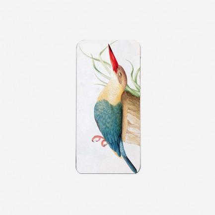 """""""鹤嘴翠鸟"""" iPhone手机保护壳"""