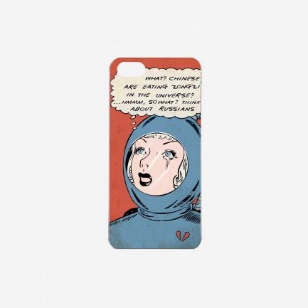 """""""女性宇航员"""" iPhone手机保护壳"""