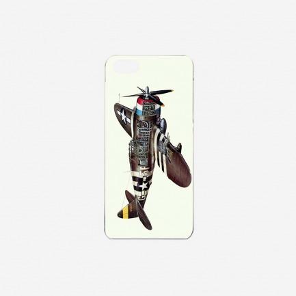 """""""雷霆战斗机"""" iPhone手机保护壳"""