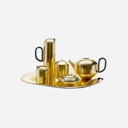 黄铜茶具套装