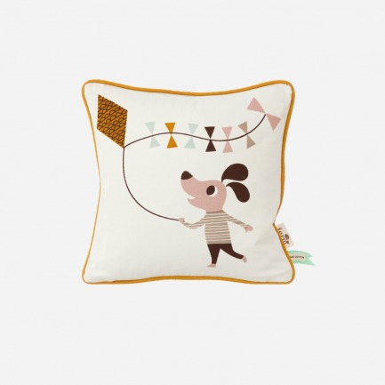 狗图案儿童抱枕(带内芯)