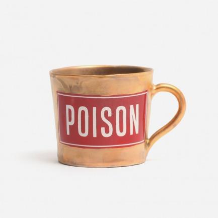 亚光金Poison咖啡杯
