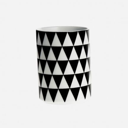 几何三角花纹口杯