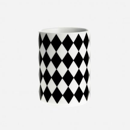 几何菱形花纹口杯
