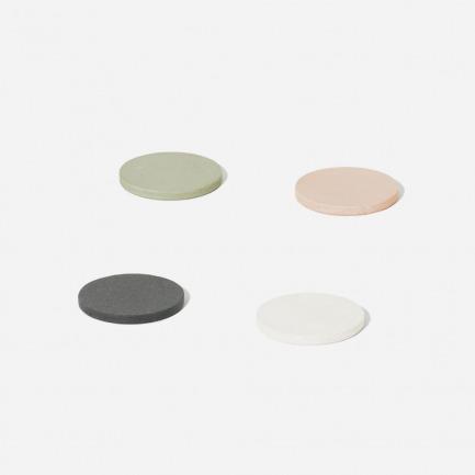 硅藻土材质极吸水 大号杯垫圆型