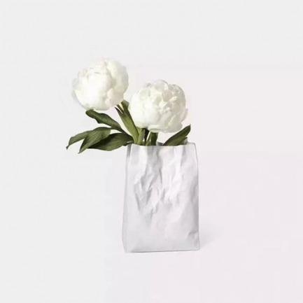 新波纹袋陶瓷花器 | MoMA永久珍藏产品艺术品