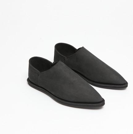 两片皮踩脚手工鞋(多色)
