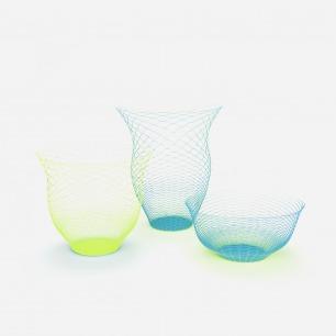 空气花瓶(3个装) 黄色 蓝色