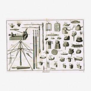 Diderot Encyclopedia迪德罗百科全书插图全集