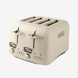 Delonghi CTO4.E 经典款 多士炉/烤面包机/吐司机