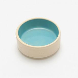 手工烧制宠物猫狗通用中型陶瓷碗盆