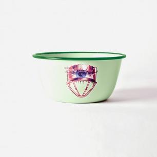 Toiletpaper款搪瓷餐盆-眼睛 | 意大利极具艺术性家居品牌