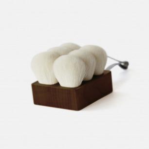 纯正山羊毛短沐浴刷 | 25位日本专业工匠手工制作