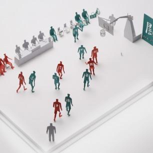 翔阳高校 建筑模型配件系列