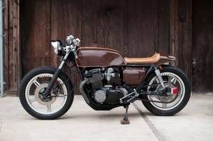 """DAILY INSPIRATION: 1978 Honda CB750 """"Espresso"""""""