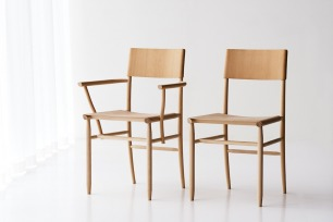 David Ericsson creates a light-weight beech chair