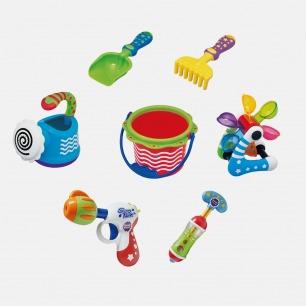日本 Toyroyal儿童玩沙洗澡玩具套装