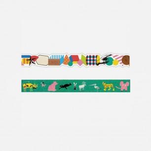 设计师合作款/不规则纸胶带套装