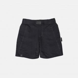 针织牛仔简约短裤
