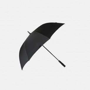 简约武士风长柄双层半自动雨伞