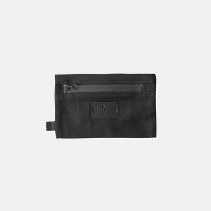 黑色简约拉链嵌袋杂物袋