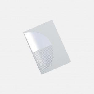 几何拼图笔记本 灰+银 椭圆