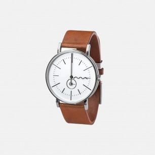 极简主义手表 TIDE SILVER
