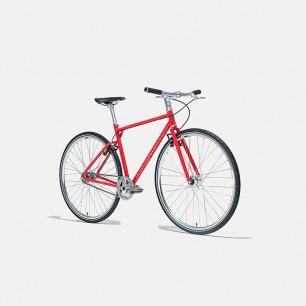 城市骑行自行车(火山红)