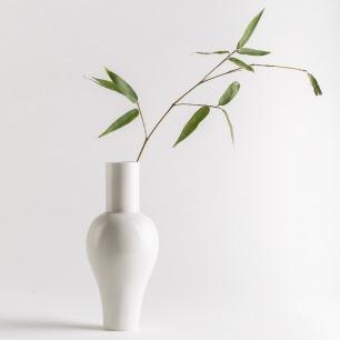 看见·秋瓷花瓶 粉白