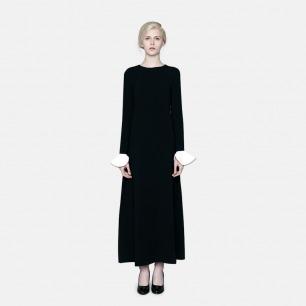 极简轻奢年会礼服连衣裙 | 原创时装独立设计师