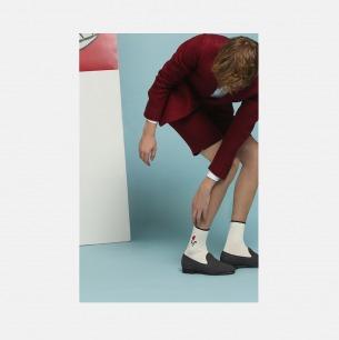 动态雕塑长袜 白色