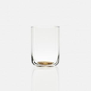 极简金底玻璃杯 高水杯款 | 北欧风 轻薄水晶玻璃材质