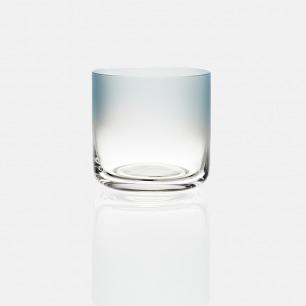 彩色低水杯-蓝色渐变