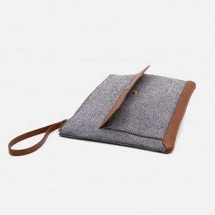 woolpack 条纹羊毛手包