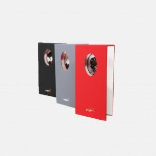 艺术家闫威合作款便携精装小本(黑、红、灰三款)