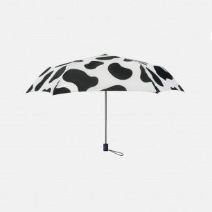 动物纹折叠晴雨伞 | 超轻便携 防紫外线遮阳伞【奶牛/长颈鹿】