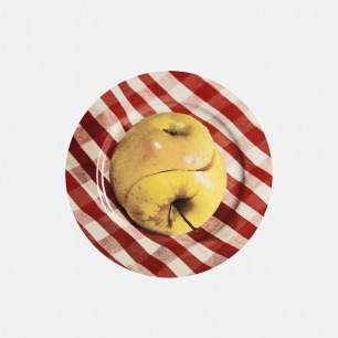 Toiletpaper餐盘-苹果 | 意大利家居设计品牌Seletti