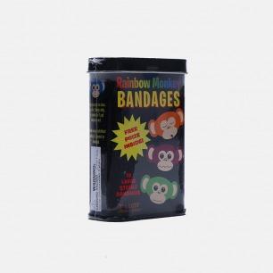 美国RAINBOW MONKEY BANDAGES 彩虹猴创口贴