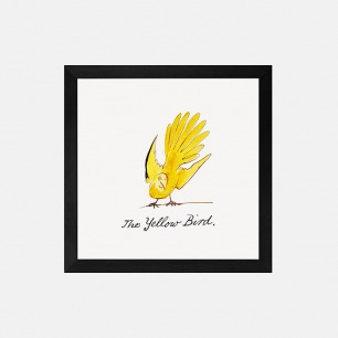 黄色的鸟 装饰画(定制品15个工作日内发货)