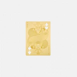 黄铜书签 | 坚固的黄铜打造 齿轮灵感设计 (小丑 扑克牌)