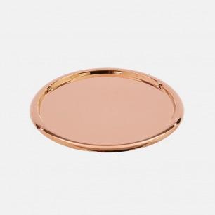 镀红铜咖啡盘 | 功能与艺术的结晶 高光泽铜打造